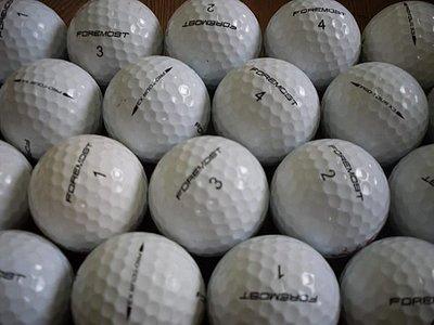 =俊達= 二手高爾夫球 foremost PRO TOUR x3 x4共100顆.每顆7元.3-4層球