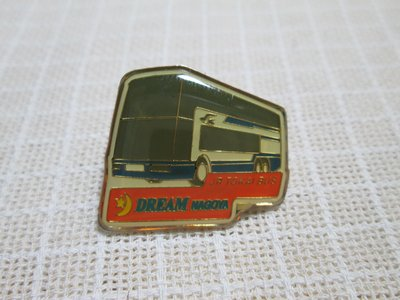 徽章 日本 JR東海巴士 TOKAI BUS DREAM NAGOYA 紀念章 別針 胸章 胸針 徽章