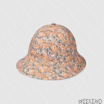 【WEEKEND】 GUCCI Liberty Flora 花朵 漁夫帽 帽子 男女同款 淺粉色 638301