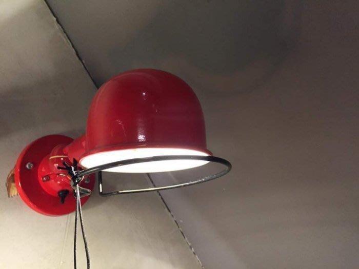 【曙muse】北歐點頭小巧壁燈 床頭燈(紅) loft 工業風 咖啡廳 民宿 餐廳 住家