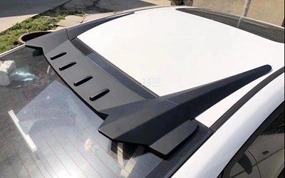 【車王汽車精品百貨】現代 Hyundai Elantra 競技版 寬版 壓尾翼 頂翼 後遮陽