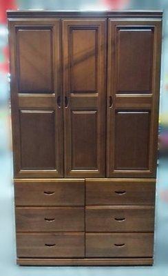 台中二手家具買賣 推薦西屯樂居(北)中古傢俱館YS111303FH*樟木實木衣櫃* 衣櫥 斗櫃 收納櫃 置物櫃 中古櫥櫃