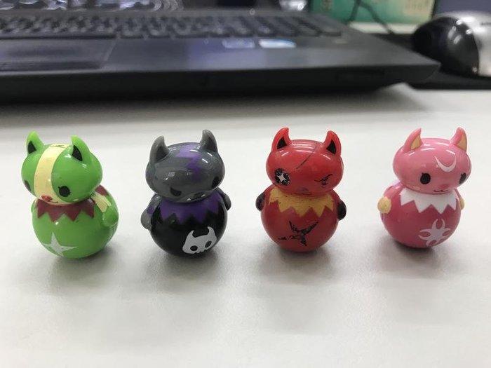 (外銷日本) 地獄貓不倒翁 辦公室小物 舒壓解憂 玩偶 公仔 禮物 送禮 模型 兒童節 四色不挑