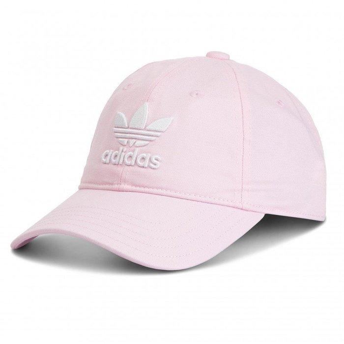 INDiCE ↗ Adidas Originals Trefoil Cap DJ0882 三葉草棉質復古球帽 老帽 粉色