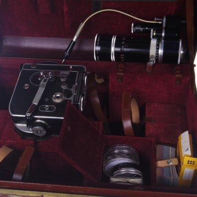 百寶軒 瑞士經典BolexH1616mm電影攝影機發條動力Kern變焦鏡頭帶外箱 ZG3473