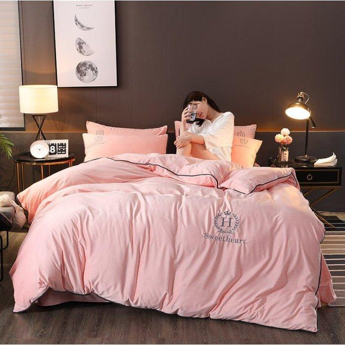 現貨 免運冬季珊瑚絨 加厚床包四件組 尊貴款 床包組 床罩組 枕套 水晶絨 法蘭絨 床單被套 雙面絨 法萊絨 雙人/加大