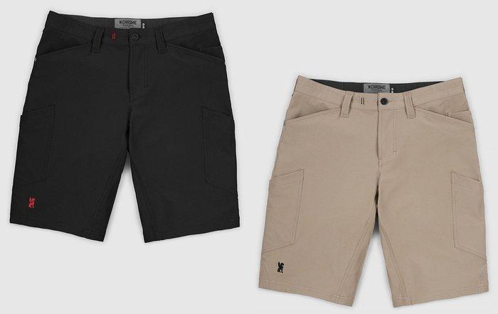 { POISON } CHROME POWELL SHORT-S 高耐力四面伸縮彈性 立體剪裁 速乾面料 CARGO短褲