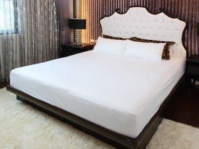 銷量第一防水透氣保潔墊 Protect-A-Bed《雙人加寬6*6.2尺》【寢之堡】防蟎床包式床墊保護罩 PAB