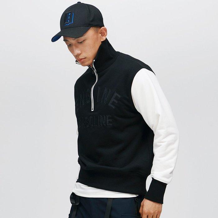 【OTOKO Men's Boutique】固制:復古立領空軍風格衛衣(台灣獨家代理)