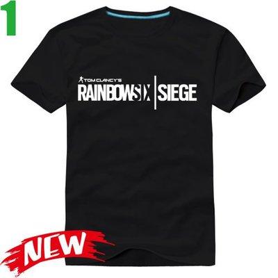 【虹彩六號 圍攻行動 Rainbow Six Siege】短袖經典遊戲T恤 任選4件以上每件400元免運費!【賣場一】