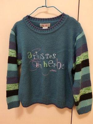 法國🇫🇷品牌童裝 Clayeux 毛衣 6歲 120cm 近全新$890運60 原價三千多