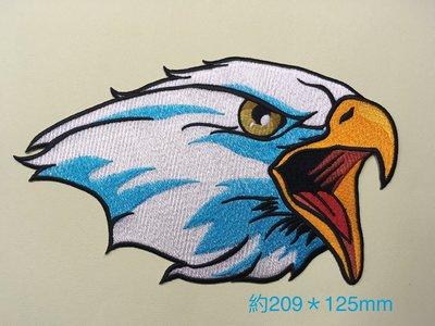 IANS 刺繡設計  老鷹--繡花貼布/繡花貼紙