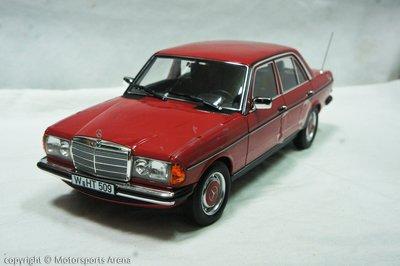 【現貨特價】1:18 Norev Mercedes Benz 200 W123 Saloon 1982 紅 ※合金全開※