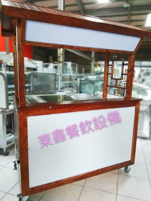 全新 紅茶冰木製攤車台 / 造型行動車台 / 訂做車台