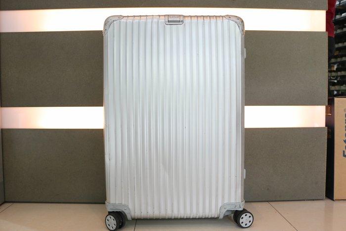 【台中青蘋果】RIMOWA TOPAS 32吋 大型四輪旅行箱 型號 920.77.00.4 #39039