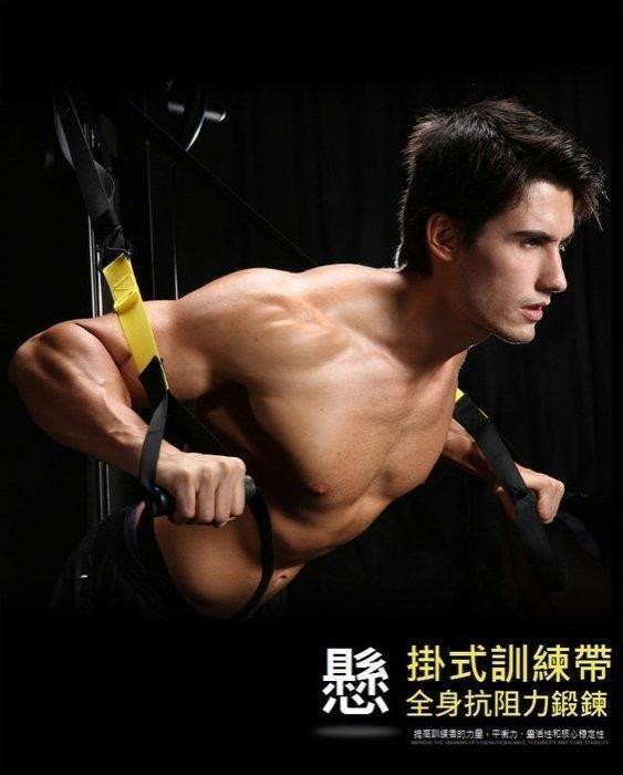 (本月降假促銷)大全配TRX 運動專業版 美國海豹部隊專用拉力繩懸吊式訓練系統 鍛鍊腹肌 懸掛式訓練帶懸吊訓練繩懸掛