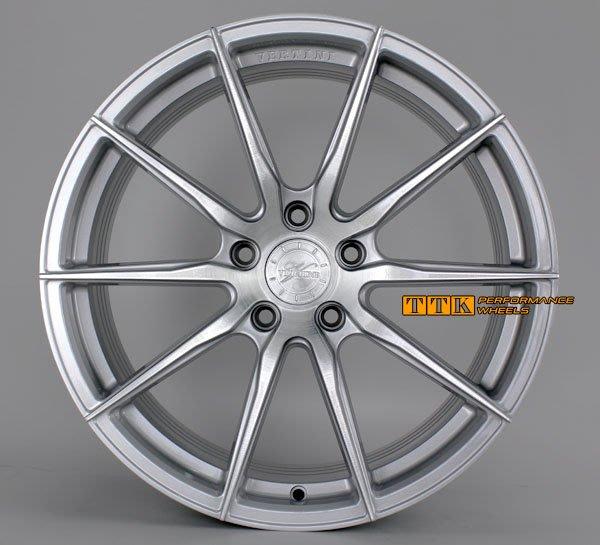 VERTINI正品 RF1.1 20吋 旋壓鍛造 5孔 全車系8.5J + 9.5J 銀底髮絲面~超輕量~配胎套餐大折扣