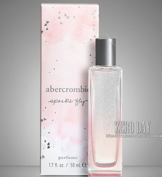 美國時尚網A&F真品Abercrombie&Fitch sparks fly perfume粉紅黑莓甜蜜香水情人節禮物