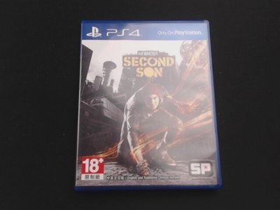Infamous Second Son 惡名昭彰:第二之子 PS4