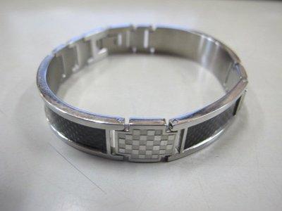 二手舖 NO.3858 羅亞戴蒙 ROYAL DAMON 316L 健康磁石造型手環 手鍊