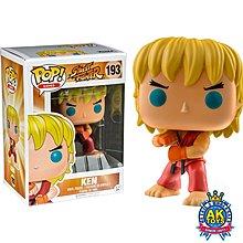 AK Toys - Funko POP #193 Street Fighter 街頭霸王 街霸 Ken Special Attack