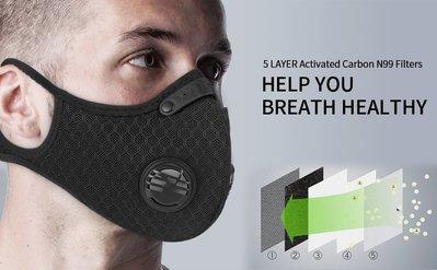 Baby Outdoor Gear XINTOWN 掛耳透氣款 騎士口罩/運動口罩/防風防塵防霧霾PM2.5/活性炭口罩