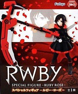 日本正版 FURYU 景品 RWBY 露比 蘿絲 SP 模型 公仔 日本代購