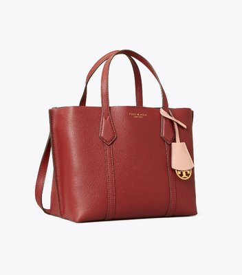 Tory Burch Perry Small Triple-Compartment Tote Bag 12/24止