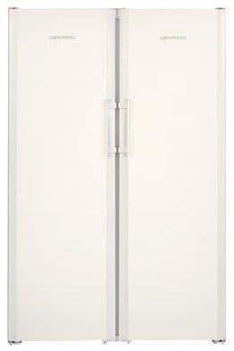 唯鼎國際【德國LIEBHERR】SBS7242 白色烤漆利勃電冰箱雙門對開 SBS7262