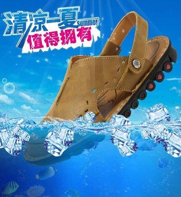 暖暖本舖&英倫風 涼鞋兩穿 多功能 高級防滑設計 真皮鞋 真皮 牛皮 透氣 止滑 鞋面材質 鞋子材質(牛皮) 絕對好穿