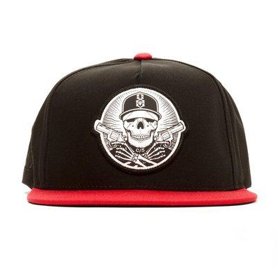 【REBEL8】ANY MEANS SNAPBACK (黑色)可調節帽子