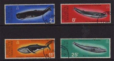【雲品】英國南極British Antarctic Territory 1977 Sc 64-7 set FU 庫號#BF502 65362