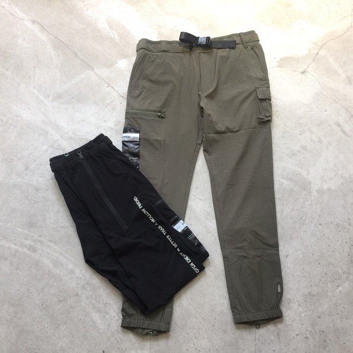 【車庫服飾】DISARRAY 2020 後拉鍊 機能 腰帶束口褲