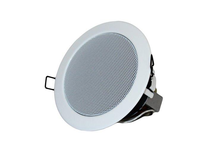 【昌明視聽】TOA PC-6WM-EB 三吋 7CM 天花板嵌頂喇叭
