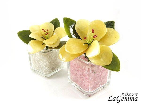 ☆寶峻鹽燈☆特價450元~花開富貴 黃玉花 晶石花朵 居家裝飾/家飾擺飾, 春意盎然盛開花朵 碎石任選