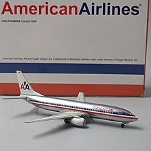 Dragon 1/400 American Airlines Boeing 737 N909AN