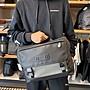 COACH 88336 新款男士公文包 鏤空真皮拼接PVC材質 單肩斜挎包 手提包