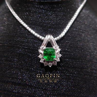 【高品珠寶】70分祖母綠墜吊墜 女墜 #828