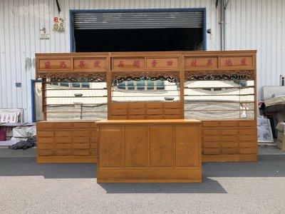 大高雄二手貨中心(全省買賣)---檜木    84格    中藥櫃    藥材櫃  收納櫃    置物櫃    便宜出清