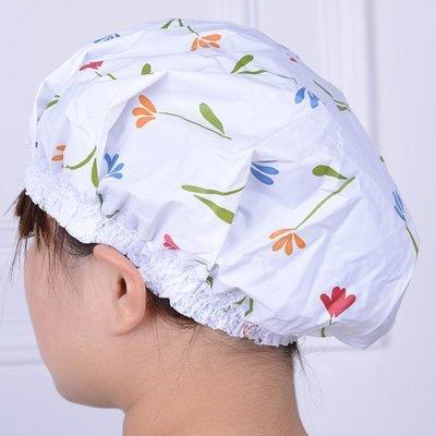 [特惠免運]家用浴帽浴室洗澡防水帽成人兒童淋浴帽女款—《MONA》