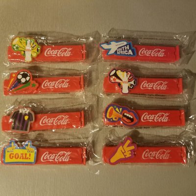 Coca Cola 可口可樂 零食 袋口夾 全套 8款 全新