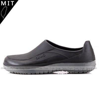 Ovan 男女款 復古雙色防水止滑耐磨廚師鞋 工作鞋 雨鞋 35~43號 MIT台灣製造
