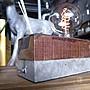 【曙muse】 水泥混原木質感桌燈 環氧樹酯 造型檯燈 Loft 工業風 咖啡廳 民宿 餐廳 居家擺設