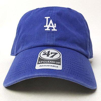 現貨 47 BRAND LA DODGERS BASE RUNNER 洛杉磯道奇 老帽 MLB  小圖 寶藍色
