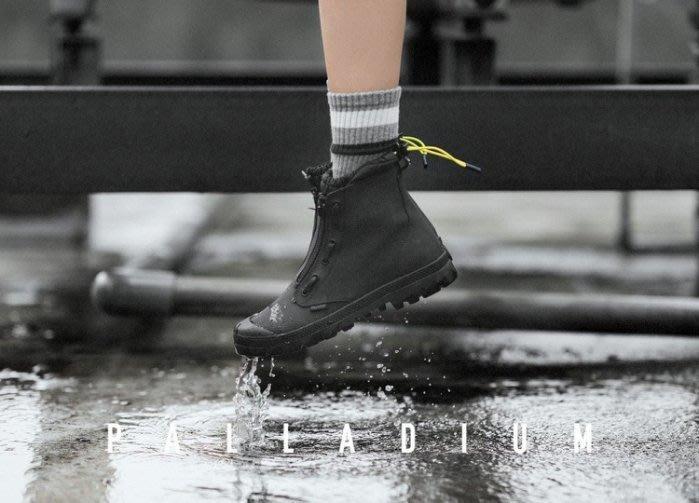 南◇2019 6月 PALLADIUM PAMPA HI LITE 黑色 靴子 雙層 拉鍊 防水 男女 75973032