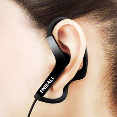 ☜男神閣☞入耳式掛耳式運動跑步耳機手機通用線控音樂耳掛耳麥有線帶麥耳塞