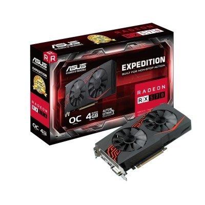 缺貨  華碩顯示卡 EX-RX570-O4G  顯示卡 $ 8990