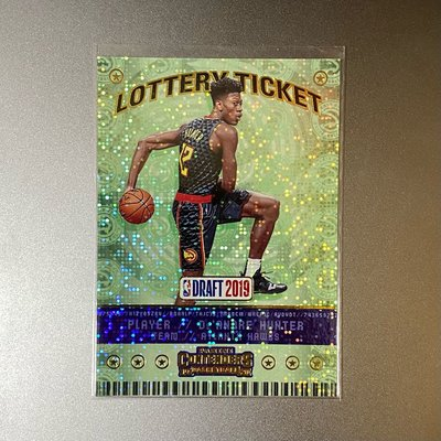 De'Andre Hunter 2019-20 Contenders Lottery Ticket RC