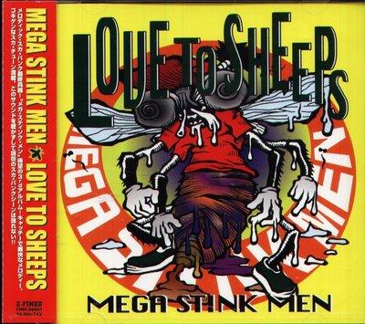 K - MEGA STINK MEN - LOVE TO SHEEPS  - 日版 1999 - NEW