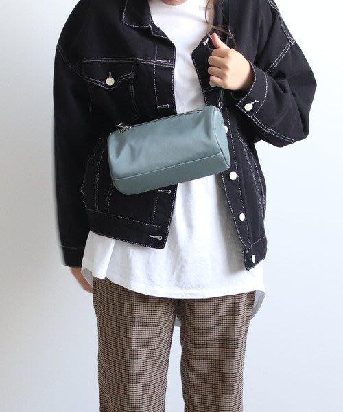 【Mr.Japan】日本限定 COLDE 肩背 側背包 桶狀包 小包 外出 簡約 三色 灰藍 預購款